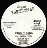 Lee Scratch Perry - Tongue of Thunda / Dub  (Original Earthiopian) 10""
